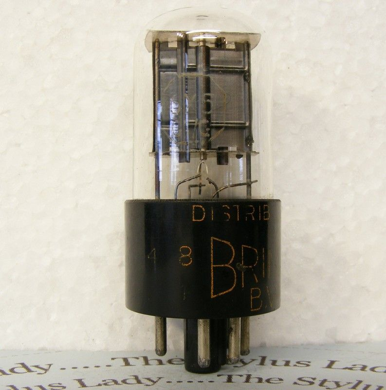 6X5GT/G, Brimar, HT rectifier valve, tested