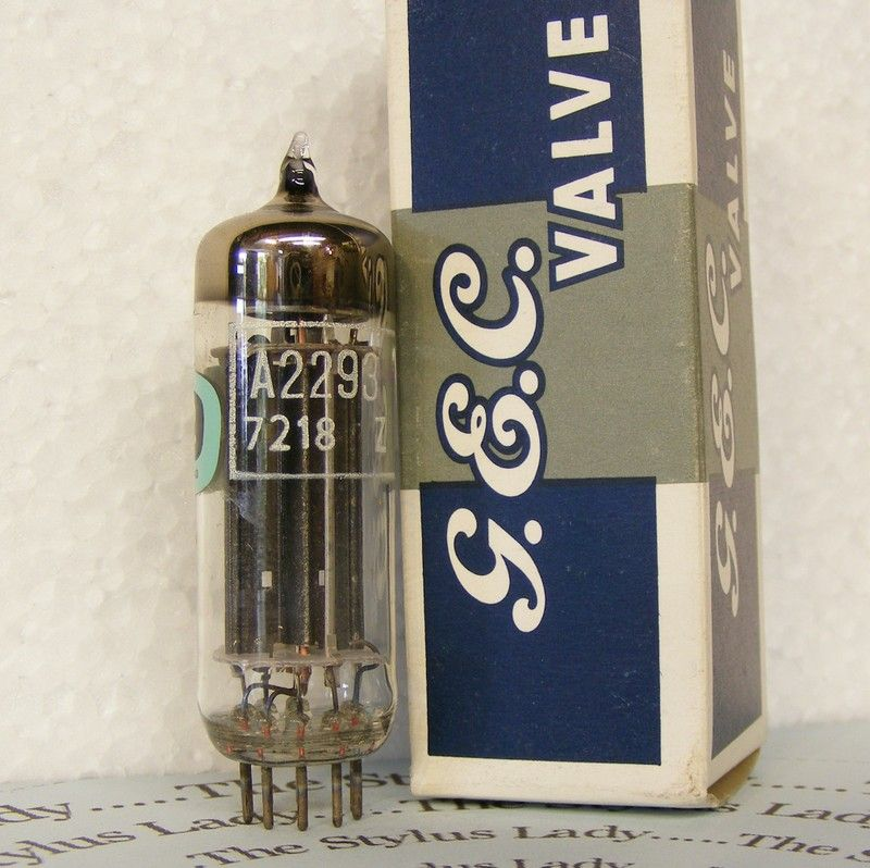 A2293, GEC valve, new and boxed tube