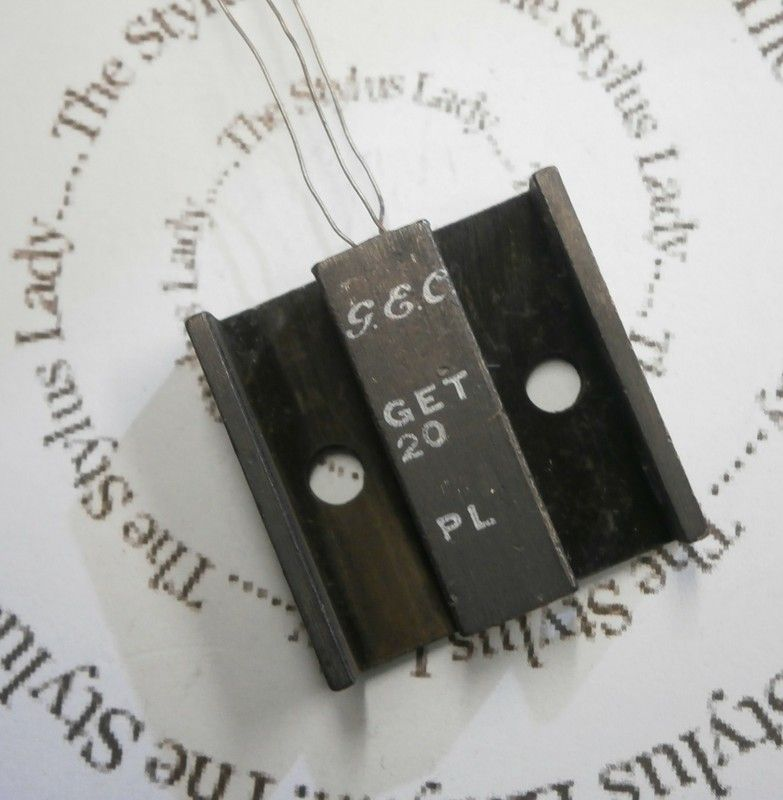 GEC GET20 germanium transistor, tested NOS